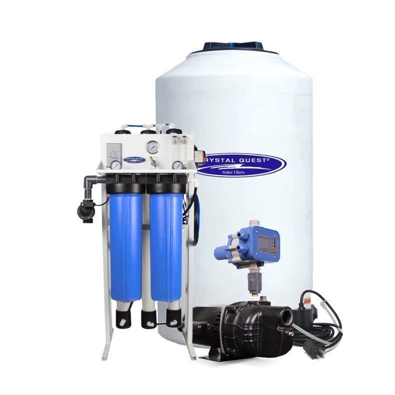 Crystal Quest CQE-CO-02027 Commercial Reverse Osmosis System 2500 gpd