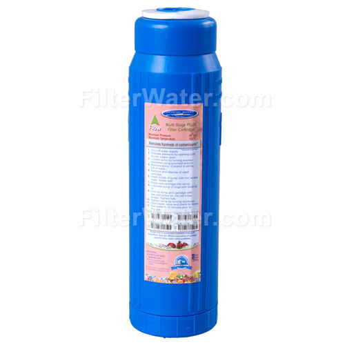 Crystal Quest CQ-RC-UM-10 GAC KDF Filter, 6-stage Water Filtration Cartridge - ULTIMATE