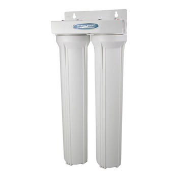"""Crystal Quest CQE-WH-01102 CQE-WH-01102 Whole House Water Filter Double 20"""""""