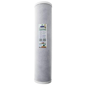 Crystal Quest CQ-R5-20x5 20x5 Carbon Block Water Filter Cartridge CBC-20BB