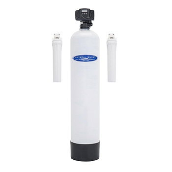 Crystal Quest CQE-WH-11630 Fluoride Whole House Water Filter - 1.5 cu.ft