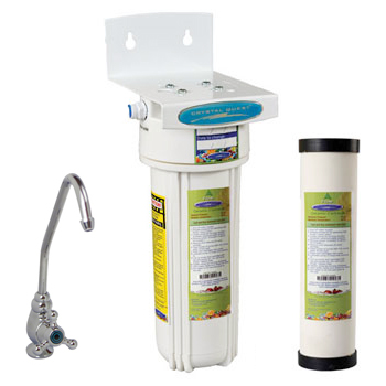 Crystal Quest W9UC-PLUS Undersink Ceramic Water Filter Under Counter