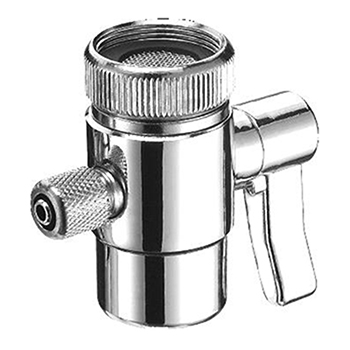 Crystal Quest CQE-PT-03001 Diverter Valve for Countertop Filter, Faucet Adapter