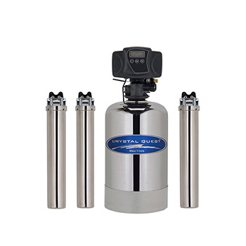 Crystal Quest CQE-WH-02103 Eagle 1000A-SS Whole House Water Filter CQE-WH-02103 Stainless