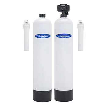 Dual Tank Iron, Hydrogen Sulfide And Anti-Scale Water Conditioner , CQE-WH-05231