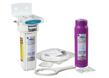 Crystal Quest Refrigerator-Fluoride InLine 7-Stage Water Filter with Fluoride Removal