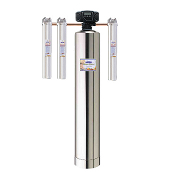 Crystal Quest CQE-WH-02109 Stainless Home Water Filter System Eagle 2000A-SS - 750,000 gallons