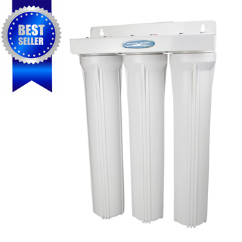 Crystal Quest CQE-WH-01103 CQE-WH-01103 Whole House Water Filter Triple 20 inch