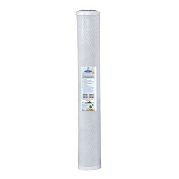"""Crystal Quest CQ-R15 20"""" Carbon Block Water Filter Cartridge"""