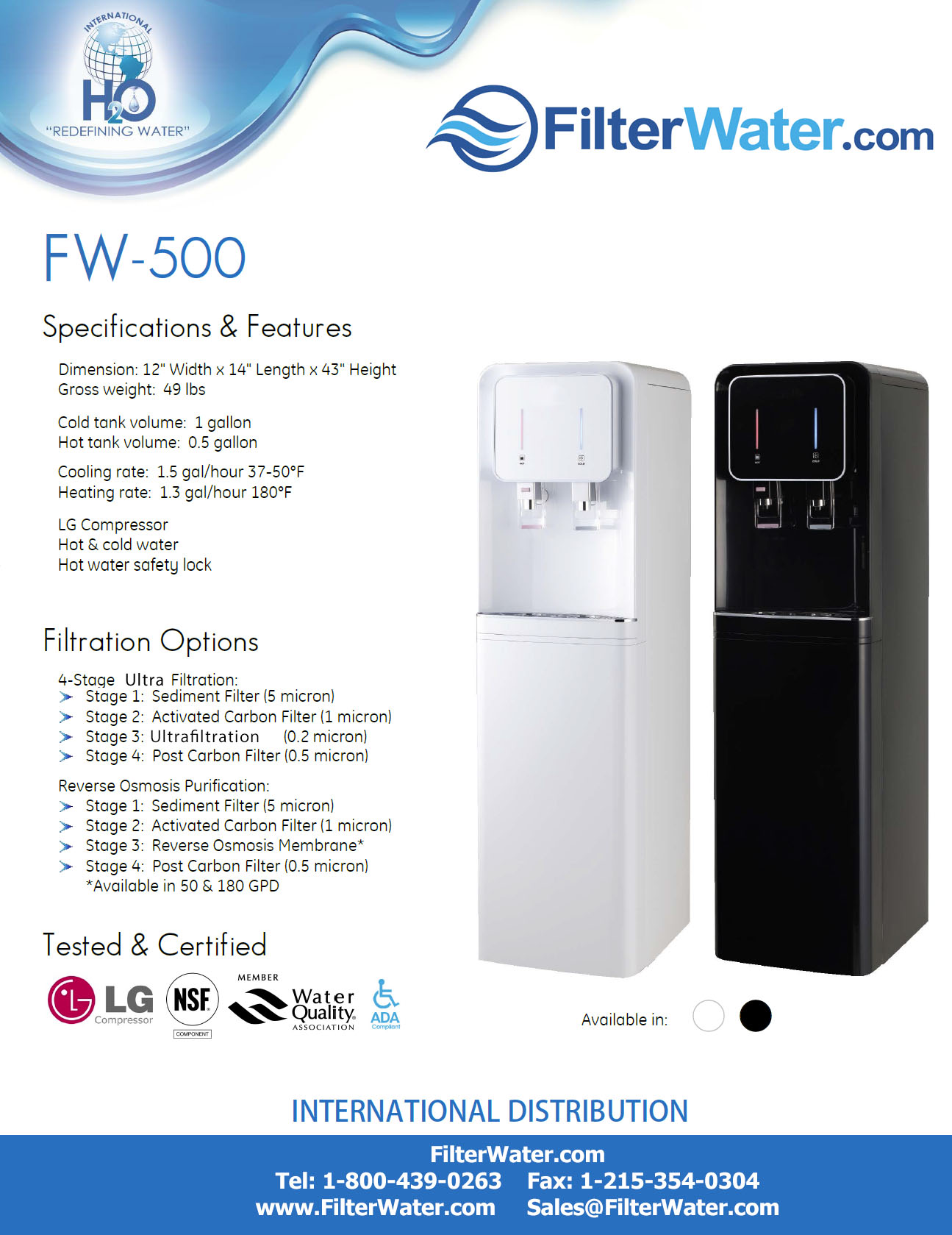 water cooler installation instructions