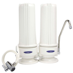 Countertop Nitrate Removal Water Filter  Dual