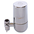 Faucet Mounted Water Filter Chrome CrystalQuest