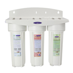 Triple Inline Water Filter with Custom Filters