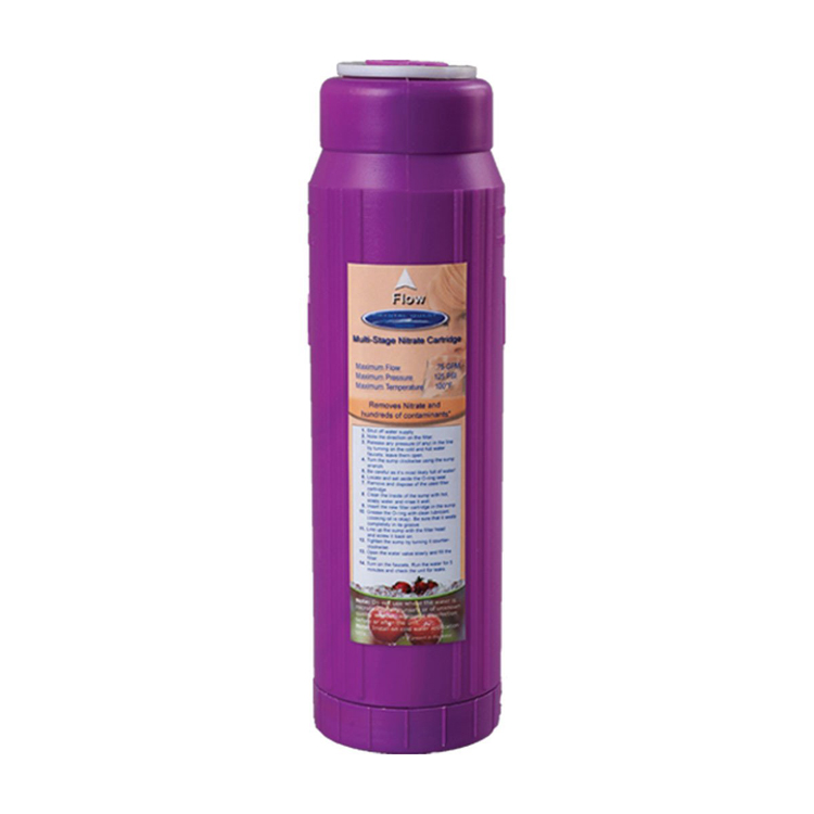 Nitrate Multistage Water Filter Cartridge 10x2 5