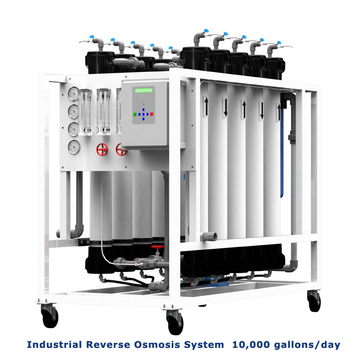 Industrial Reverse Osmosis System 10000 Gpd