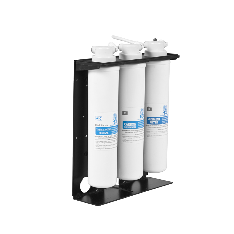Water cooler filtration system installation pack for Fountain filter systems