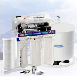 Reverse Osmosis Water Filtration System 5-stage with Booster Pump, CQ-RO-ULTIMATE