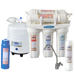 Crystal Quest CQE-RO-00110 Thunder 2000M Reverse Osmosis and UltraFiltration Undersink System - 50 GPD