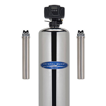 FilterWater iron and hydrogen Sulfide whole house filter